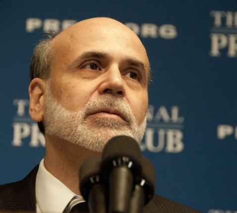 Bernanke made a public statement today after a two-day policy meeting.
