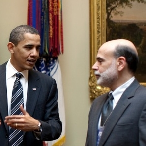 President Obama recently hinted that Bernanke might not be staying on past his term expiration in January.