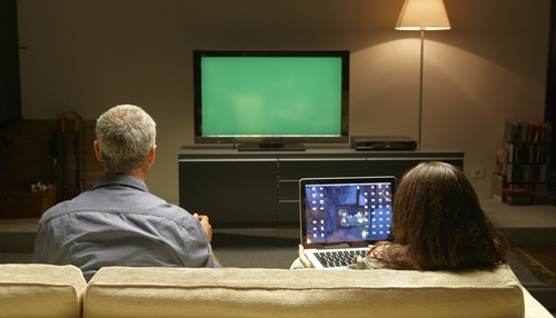 The TV may not be the best way  to lean about investing.