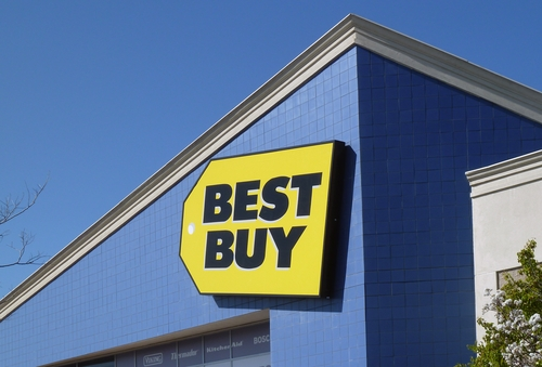 Best Buy has had to deal with competition from online stores.